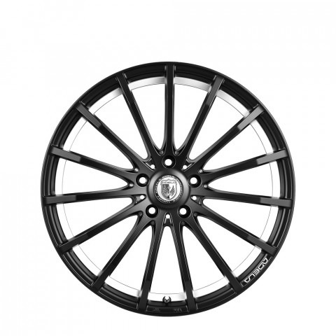 Uproar - Matte Black Under Cut Machine Wheels