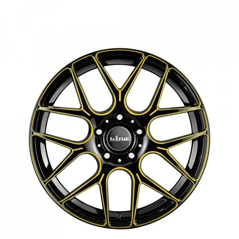 Matrix - Yellow Black Piped Wheels