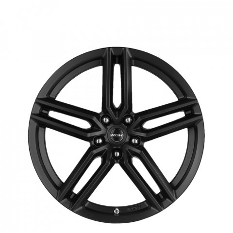 Spyder - Matt Black Wheels
