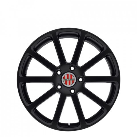 Zehn - Matte Black Wheels