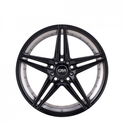 Manta - Gloss Black Machined Wheels