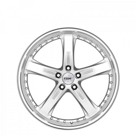 Jarama - Hyper Silver W/Mirror Cut Lip Wheels
