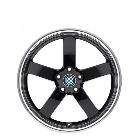 Rapp - Gloss Black W/Mirror Cut Lip Wheels