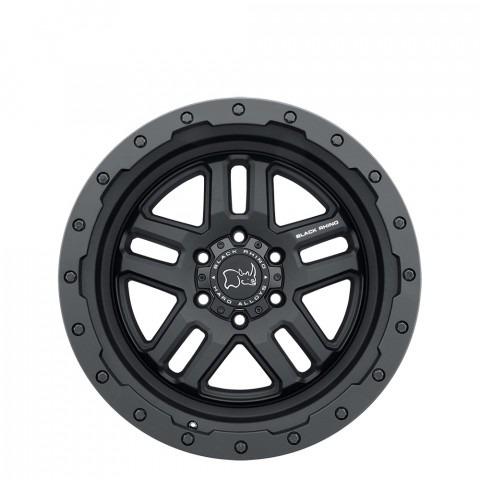 Barstow - Textured Matte Black Wheels