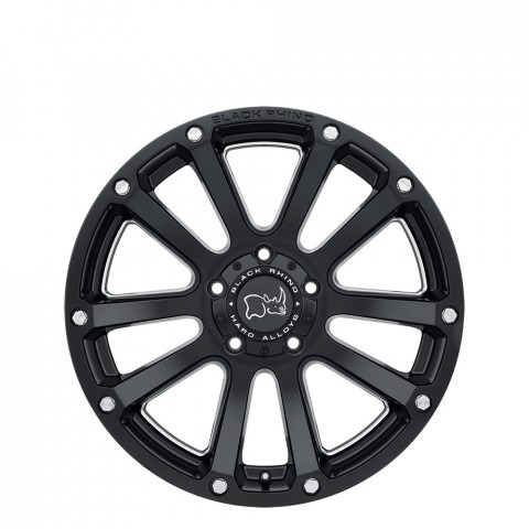 Highland - Matte Black Wheels