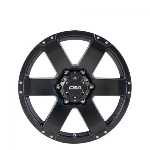 Commando - Satin Black Wheels