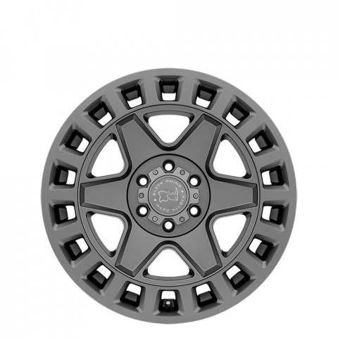 York - Matte Gunmetal Wheels