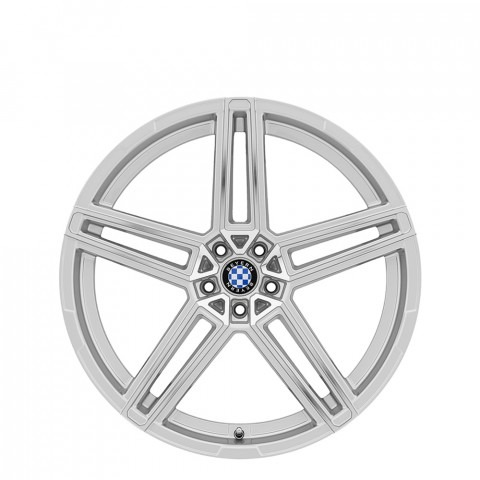Gerade - Silver W/Mirror Cut Face Wheels