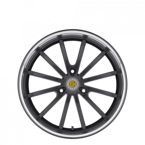 Darwin - Gunmetal W/Mirror Lip Wheels
