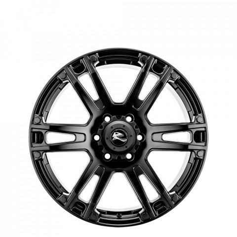 Barracuda - Matt Black  Wheels