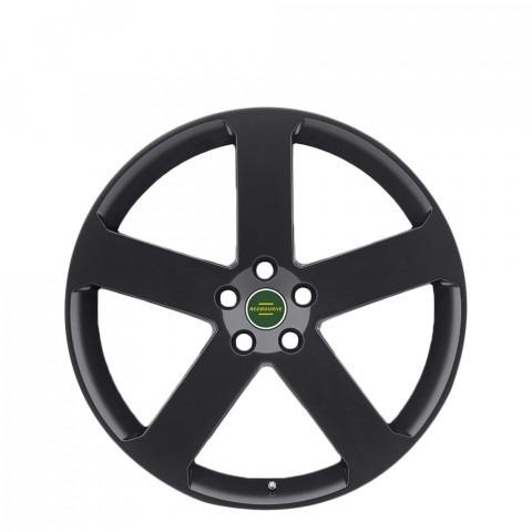 Nottingham - Matte Black Wheels