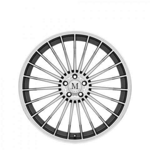 23 - Gunmetal W/Mirror Cut Face Wheels
