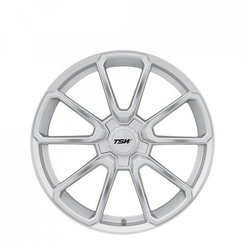 Sonoma - Silver W/Mirror Cut Face (Silver Hex Nut) Wheels