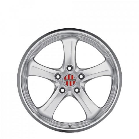 Turismo - Hyper Silver W/Mirror Cut Lip Wheels