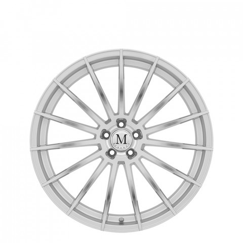 Stirling - Silver W/Mirror Cut Face Wheels