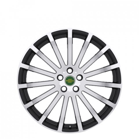 Dominus - Gloss Black Machine Face Wheels