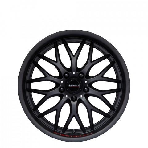 Cheetah Sports - Black Suede Wheels