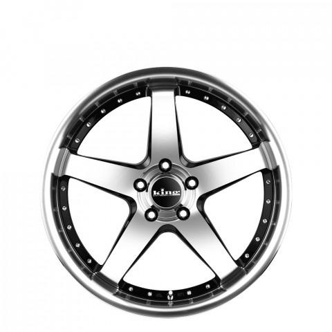 Detroit - Machined Black Wheels