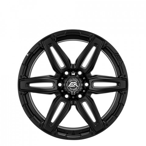 Roscoe - Matt Black Wheels