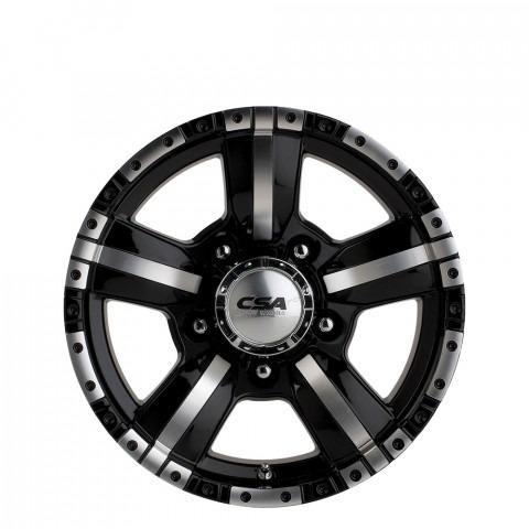 Monster - Black M-Face LC Wheels