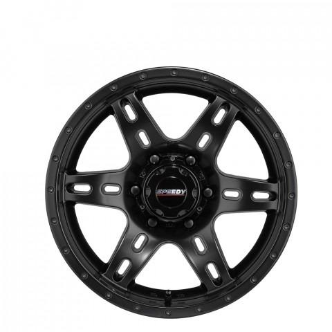 Deadlock - Satin Black Wheels