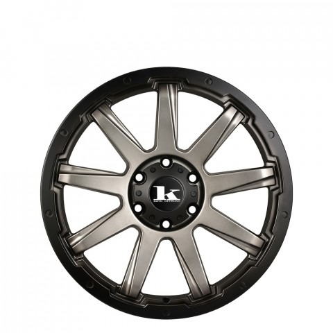 Gator - Gunmetal Satin Wheels