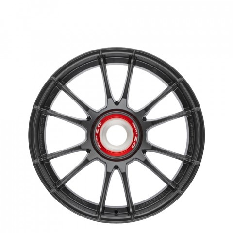Ultraleggera HLT CL - Matt Graphite Silver Wheels