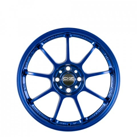 Alleggerita HLT - Matt Blue Wheels