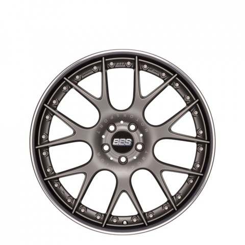 CH-R II - Matt Platinum with Stainless Steel Rim Protector  Wheels