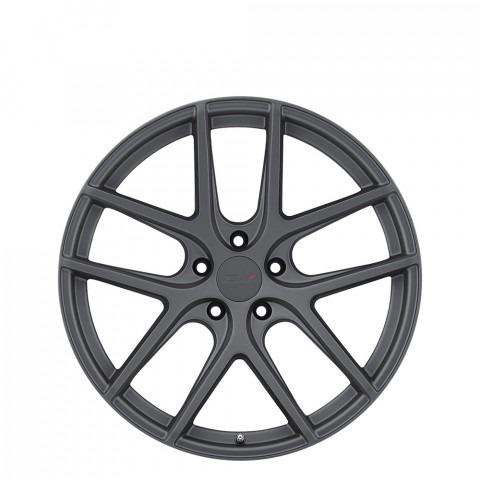 Geneva - Matte Gunmetal Wheels