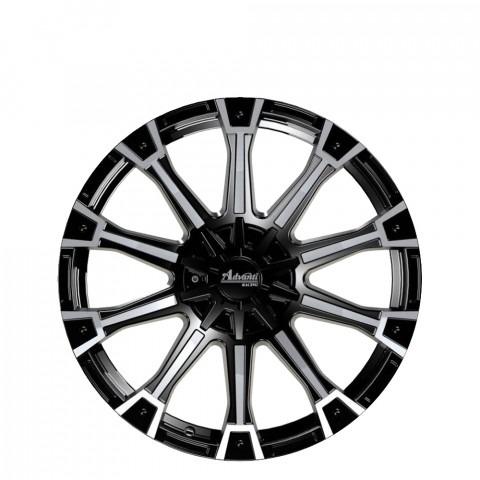 Gorilla - Gloss Black Full Polish Wheels
