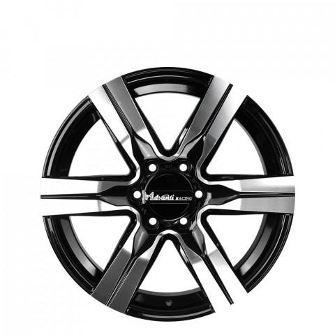 Cyclone - Gloss Black Full Polish Wheels