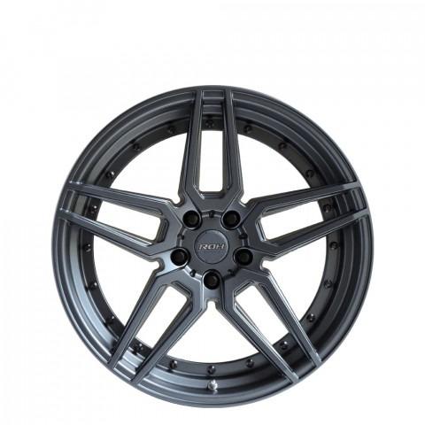 RO1 - Gunmetal Grey Wheels