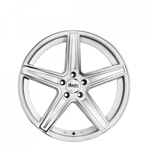 Dortmund - Silver Full Polish Wheels