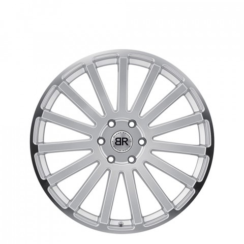 Spear - Silver W/Mirror Cut Lip Edge Wheels