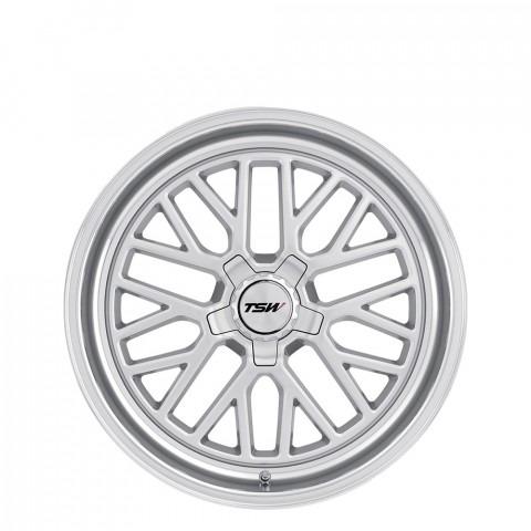 Hockenheim S - Silver W/Mirror Cut Lip Wheels