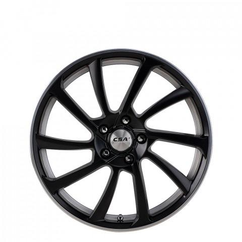 Motega - Satin Black M-Lip Wheels