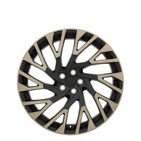 Westminster - Matte Black W/Machine Face & Dark Matte Tint Wheels
