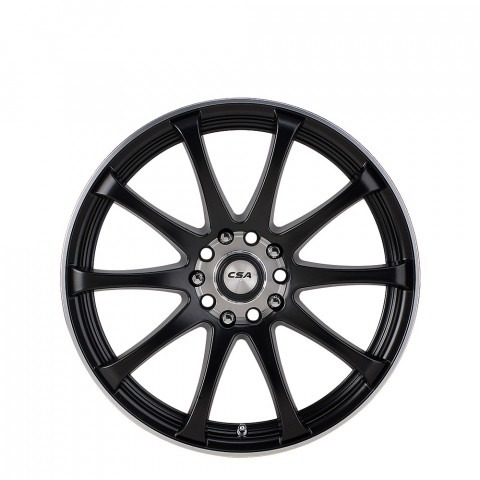 Racetek - Satin Black M-Lip Wheels