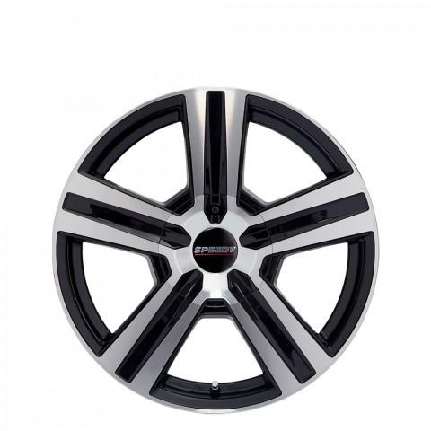 Liberator - Machine/Gloss Black Wheels