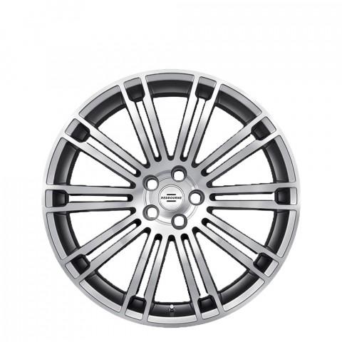 Manor - Silver W/Mirror Cut Face Wheels