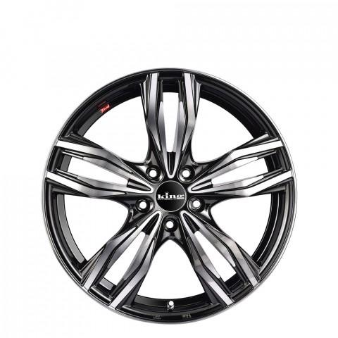 Judge - Gloss Black Black Clear Wheels