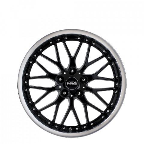 Vanquish - Black Machine-Lip Wheels