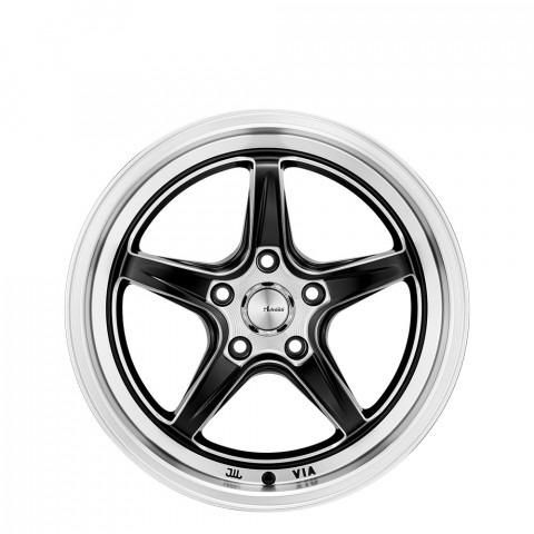 Scope - Semi Matt Black/Lip Polish & Milling Wheels