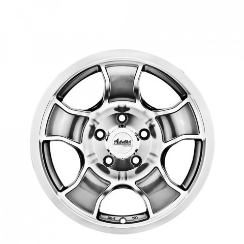 Punch - Gunmetal Full Polish Wheels