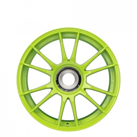 Ultraleggera HLT CL - Acid Green Wheels