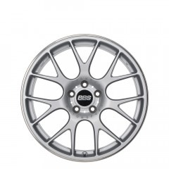 CH-R - Brilliant Silver with Stainless Steel Rim Protector wheels