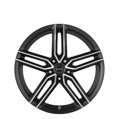Spyder - Black Machined Face wheels
