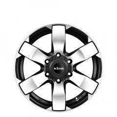 Avenger 6 - Machined Black wheels