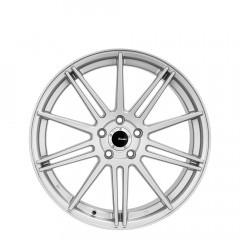 Sicilian - Semi Matt Silver wheels